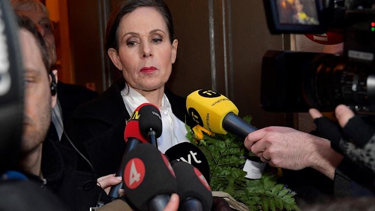 Sara Danius lämnar Svenska Akademien.