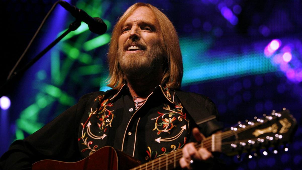 Foto: Tom Petty uppträder med The Heartbreakers på Madison Square Garden i New York sommare 2008.