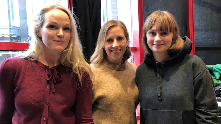 Emma Sund, Maria Soxbo och Johanna Nilsson har bildat Klimatklubben.