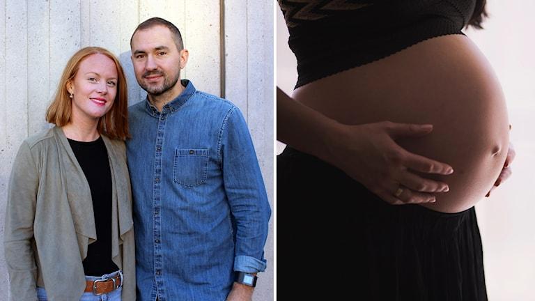 Anneli och Navid Diehl använder en surrogatmamma i Kiev.