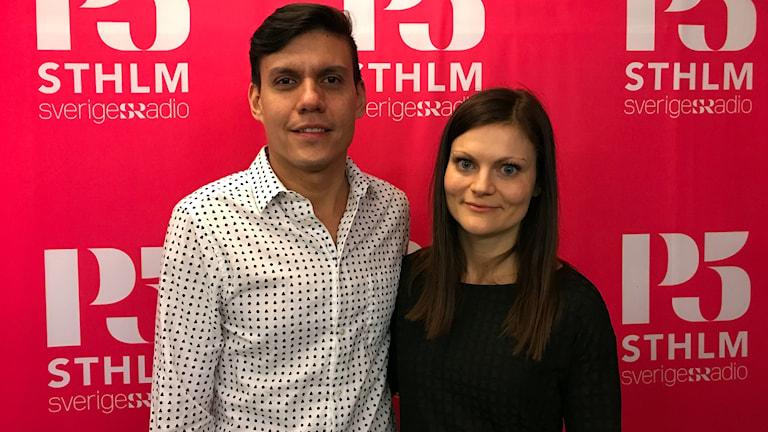 Hilmar Prato och Linnea Werlid.