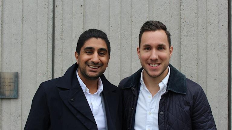 Vishal Nanda och Aleksandar Goga.