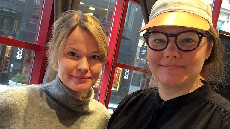 Emelie Leijon, designer och Joanna Günther, formgivare.