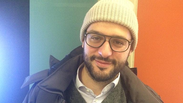 Geroge Ivanov, programchef för Stockholms Filmfestival