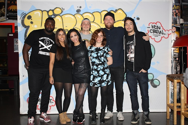Teamet bakom Kärleksattacken! Foto: Vanessa Skopinska Olsson