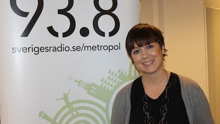 Ellen Tejle. Foto: Sveriges Radio