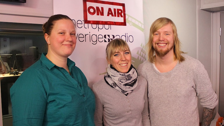 Anna, Elin och Anders