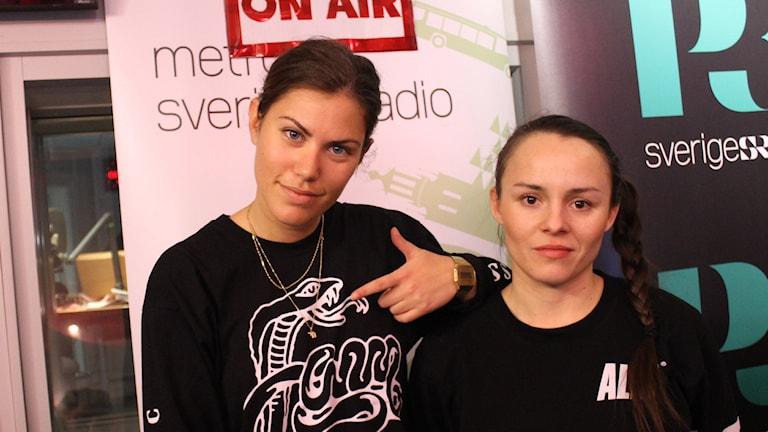 Erika Lagerström och Vanessa Marko
