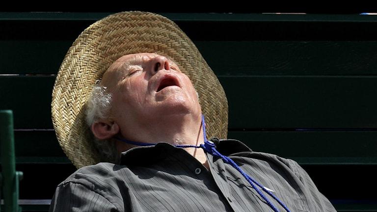 En sovande gubbe