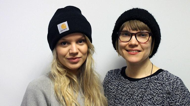 Leona Axelsen och Sara Bergmark Elfgren