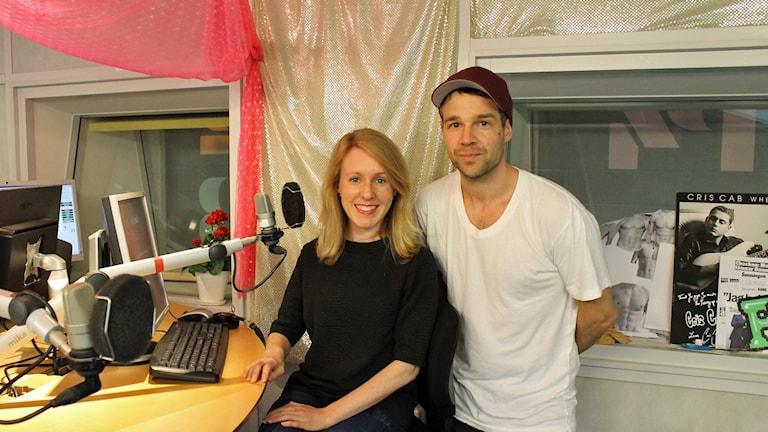 Maddy Savage redaktör på The Local och tidigare BBC-journalist. Foto: Sveriges Radio.