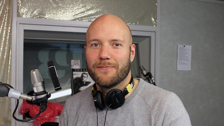 Fredrik Wass, digital strateg. Foto: Nichol von Shoenberg/Sveriges Radio.