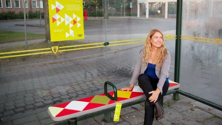 Formgivaren Marie-Louise Hellgren. Foto: Pivat