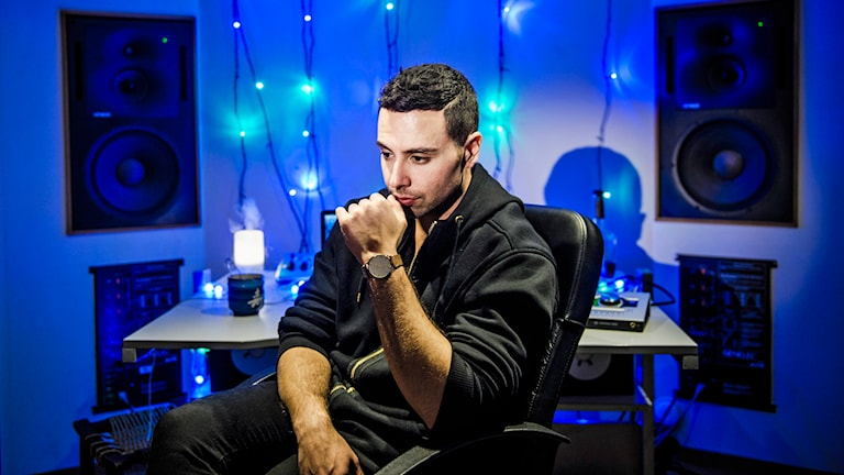 Artisten XOV, Damian Ardestani. Foto: Marc Femenia /TT.
