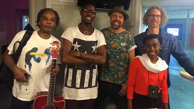 Blacknuss gästar P5 STHLM. Foto: Farzad Nouri/Sveriges Radio