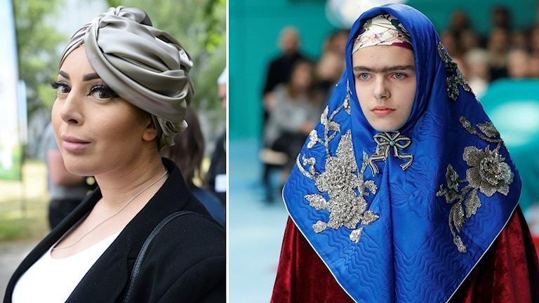 Iman Aldebe och Milan Fashion Week