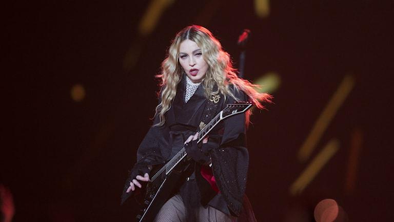 Madonna på turné i Europa. Foto: TT