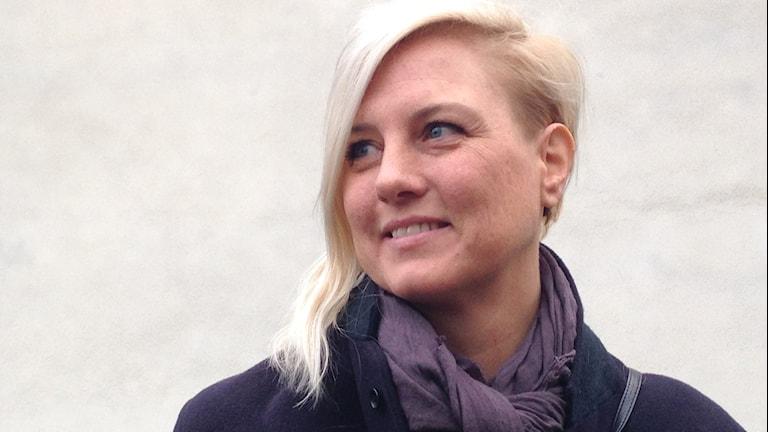 Linda Wassberg. Foto: Eva Ericsson.