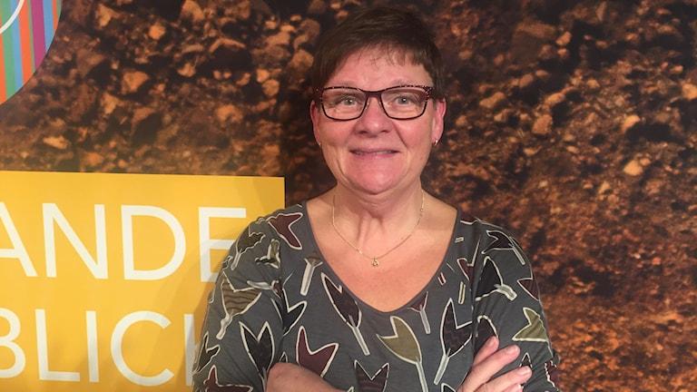 Anne-Marie Eklund Löwinder. Foto:Monika Bohman/SR