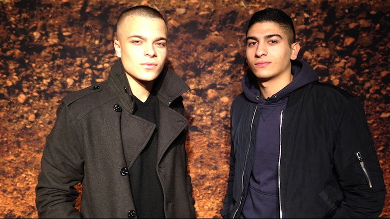 Toni-Prince Tvrtkovic och Amir Halim. Foto: Eva Ericsson/Sveriges Radio.