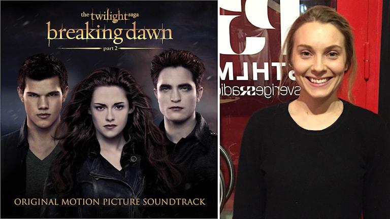 'The Twilight Saga: Brealing dawn Part 2.' Foto: AP Photo/Atlantic. Skådespelaren Aliette Opheim fastnade för Twilight. Foto: Robert Bendtlinder/Sveriges Radio.