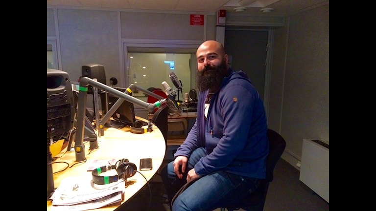 Babek Toloe. Foto: Gurgin Bakircioglu / Sveriges Radio.