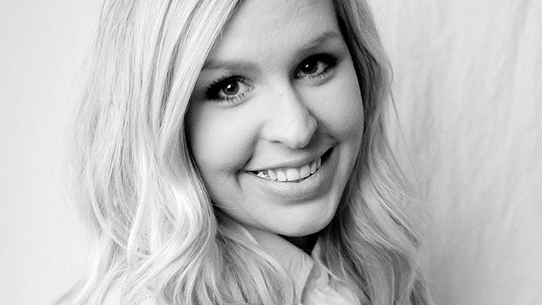 Bloggaren Angelica Lagergren. Foto: Malin Breet Schmid.