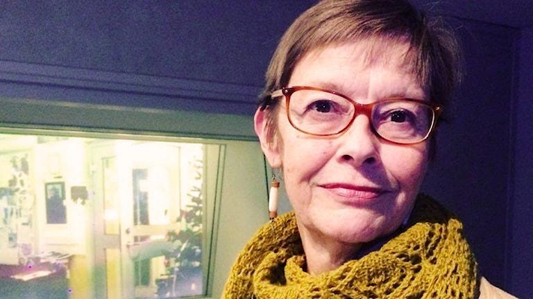 Medieforskaren Gunilla Hultén. Foto: Farzad Nouri/Sveriges Radio