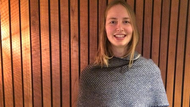 Psykologen Katarina Blom gästar P5 STHLM. Foto: Farzad Nouri/Sveriges Radio