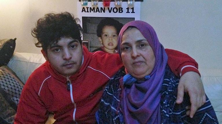 Mustafa och Fatma. Foto: Mariela Quintana Melin/Sveriges Radio