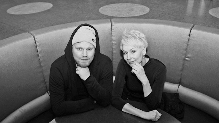 Tom Hansen och Maria Enzell. Foto: Helen Ling/Sveriges Radio.