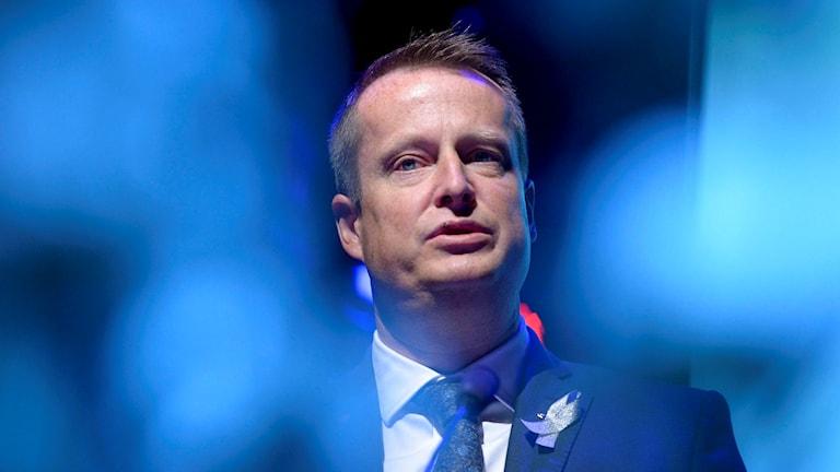 Inrikesminister Anders Ygeman (S) talade vid Riksorganisationen GAPF:s Fadimegala på Berns salonger på söndagen. oto Janerik Henriksson / TT
