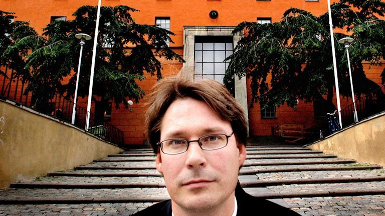 Roger Mogert (S), kulturborgarråd. Foto: Yvonne Åsell/SvD