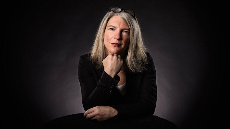 Sara Stenholm är programledare för USA-valpodden.