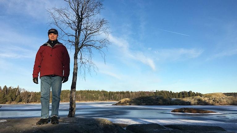 Arne Söderberg arbetar på enheten för naturvård på Länsstyrelsen i Stockholms län