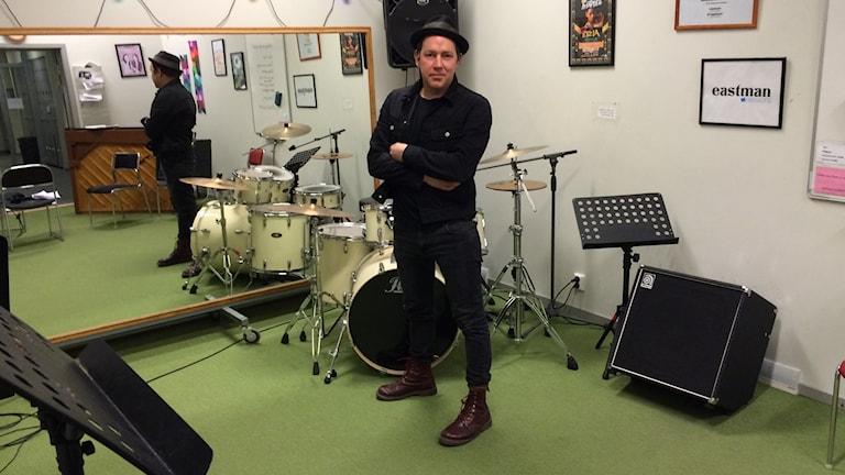 Johan Wallnäs. Foto: Tom Hansen/Sveriges Radio.