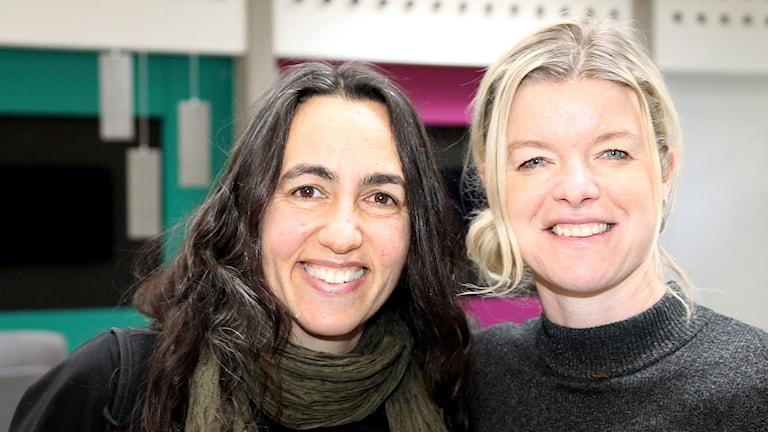 Ulrika Skogby och Elisabet König.