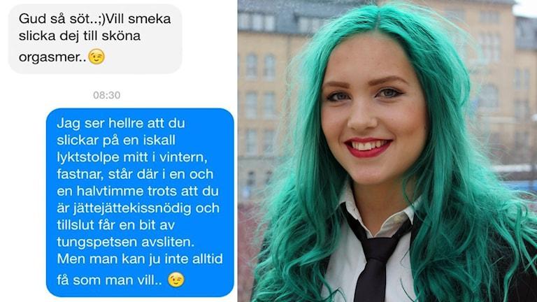 Linnea vill belysa problemen på nätet.