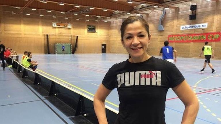 Riksdagsledamoten för Liberalerna och fotbollsspelaren Gulan Avci.