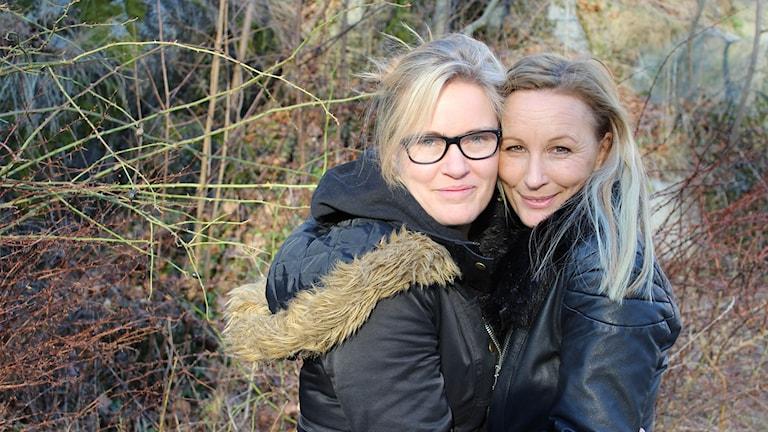 Mari Forsman Ryberger och Lotta Furebäck