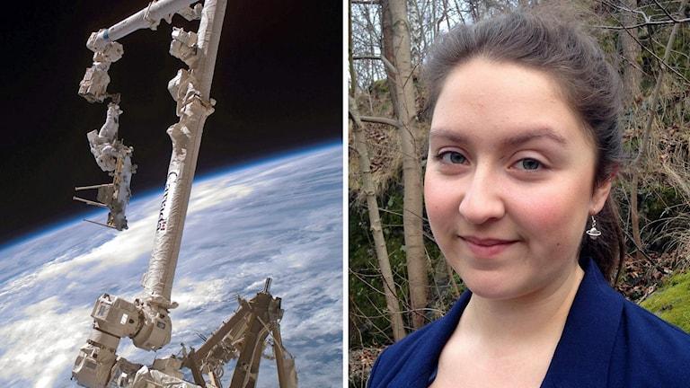Anna Larsson vill ut i rymden
