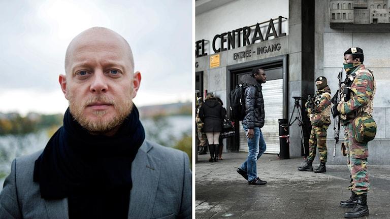 Fotograf Pieter Ten Hoopen befann sig i Bryssel.