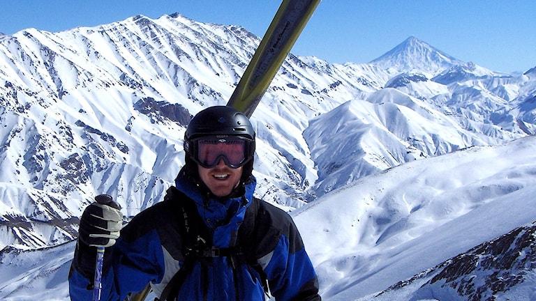 Skidguiden Mattias Jansson i Iran.
