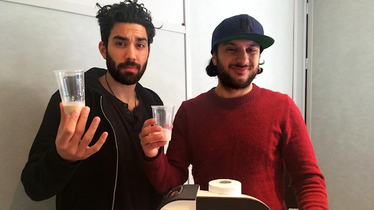 Programledarna Demir och Farzad