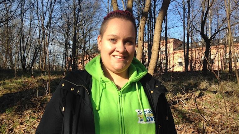 Louise Hallberg. Eva Ericsson/ Sveriges Radio