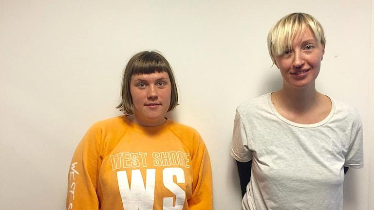 Malin Ekström och Lisa Gustafsson.