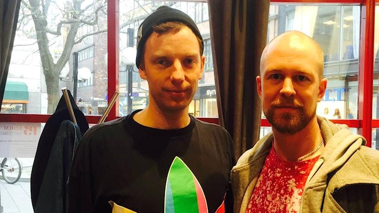 Mattias Brunn och Daniel Åkerström-Steen.