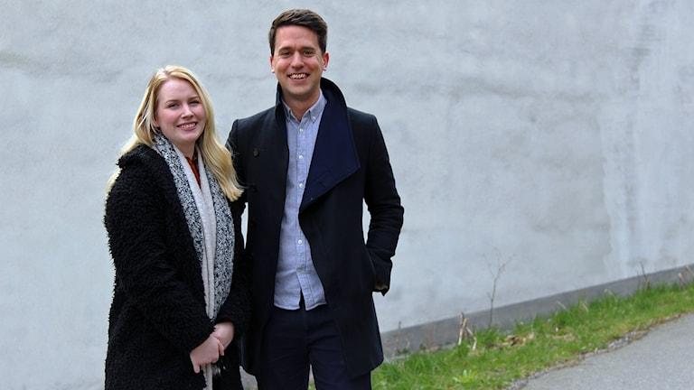 Emelie Halltoft och Niklas Svensson