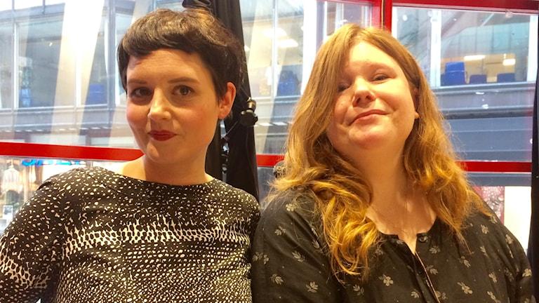 Magdalena Stenbeck och Elinore Brandén ligger bakom ModersGapet.