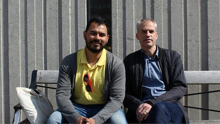 Luis Lineo och Joachim Kerpner.
